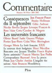 Revue Commentaire N.96 - Intérieur - Format classique