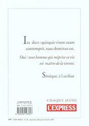 Revue Commentaire N.96 - 4ème de couverture - Format classique