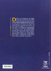 Enseigner L'Hist.Geo & L'Educ.Civique - 4ème de couverture - Format classique