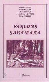 Parlons saramaka - Intérieur - Format classique