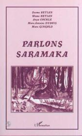 Parlons saramaka - Couverture - Format classique