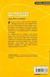 Sa Majeste Des Clones - 4ème de couverture - Format classique