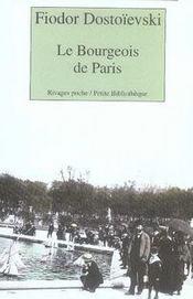 Le bourgeois de paris - Intérieur - Format classique