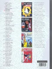 Ric Hochet ; INTEGRALE VOL.3 - 4ème de couverture - Format classique