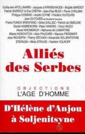Allies Des Serbes - Couverture - Format classique