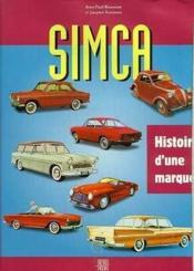 Simca - Couverture - Format classique