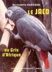 Jaco ou gris d afrique - Couverture - Format classique