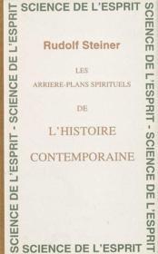 Arrieres-plans spirituels ear - Couverture - Format classique
