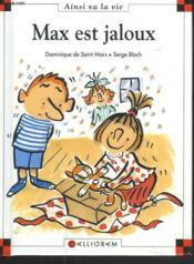 Max est jaloux - Couverture - Format classique