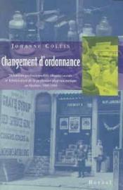 Changement D'Ordonnance - Couverture - Format classique