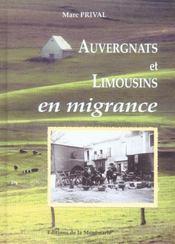 Auvergnats Et Limousins En Migrance - Intérieur - Format classique