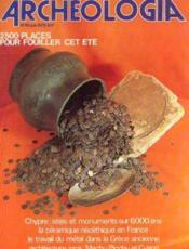 Archeologia n°119, juin 1978 - Couverture - Format classique