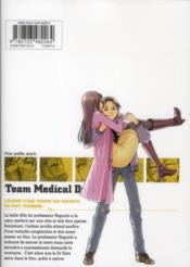 Team medical dragon t.18 - 4ème de couverture - Format classique