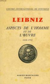 Leibniz, 1646-1716, Aspects De L'Homme Et De L'Oeuvre - Couverture - Format classique
