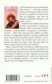 La Femme En Moi - 4ème de couverture - Format classique