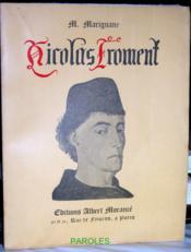 Nicolas Froment. - Couverture - Format classique