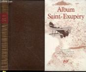 Album Antoine De Saint-Exupery - Couverture - Format classique