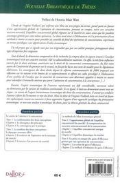 Le critère d'appréciations substantielles des concentrations ; étude comparée des droits communs - 4ème de couverture - Format classique