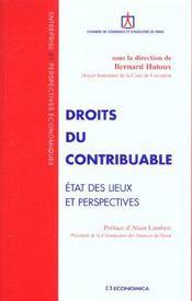 Droits Du Contribuable - Intérieur - Format classique