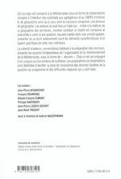 La Mediterranee En Dissertations Corrigees Capes/Agregation - 4ème de couverture - Format classique