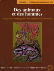 Des animaux et des hommes - Couverture - Format classique