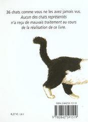 Chats pitres - 4ème de couverture - Format classique