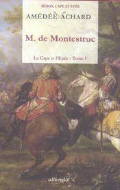 Monsieur de montestruc - Intérieur - Format classique