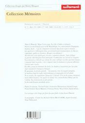 Alger 1860-1939 - 4ème de couverture - Format classique