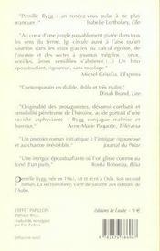 L'Effet Papillon - 4ème de couverture - Format classique