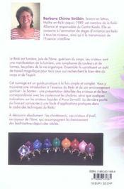 Essence cristalline du reiki - 4ème de couverture - Format classique