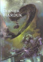 Le dernier marduk t.2 ; Tiamat - Intérieur - Format classique