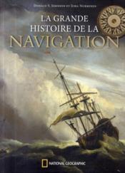 La grande histoire de la navigation - Couverture - Format classique
