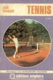 Tennis: Technique, jeu, entrainement , pédagogie - Couverture - Format classique