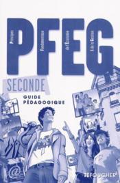 P.f.e.g sde bac guide pedagogique - Couverture - Format classique