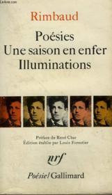 Poesies, Une Saison En Enfer, Illuminations. Collection : Poesie. - Couverture - Format classique