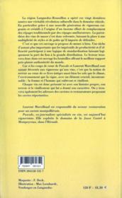 Grands vins du Languedoc-Roussillon - 4ème de couverture - Format classique