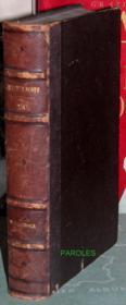 Oeuvres de Walter Scott - Tome XX - Woodstock [seul]. - Couverture - Format classique
