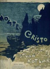 Monte Cristo - Celebre Valse Tzigane Pour Le Piano. - Couverture - Format classique