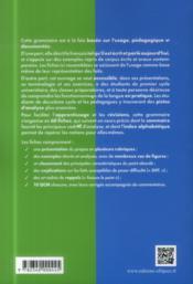 Grammaire francaise de l etudiant - en 60 fiches et qcm - 4ème de couverture - Format classique