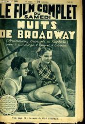Le Film Complet Du Samedi N° 1664 - 14e Annee - Nuits De Broadway - Couverture - Format classique