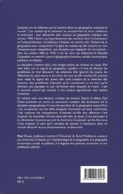 Revue géographie et cultures ; penser le monde en géographie ; soixante ans de réflexion - Couverture - Format classique
