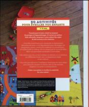 50 activités pour occuper et épater vos enfants - 4ème de couverture - Format classique