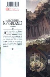 The promised Neverland T.7 - 4ème de couverture - Format classique