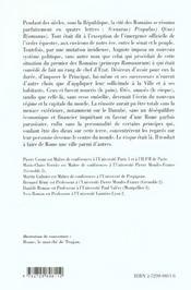 Rome Ville Et Capitale De Cesar A Commode La Ville Et Le Prince Capes/Agregation - 4ème de couverture - Format classique