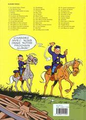 Les tuniques bleues t.23 ; les cousins d'en face - 4ème de couverture - Format classique