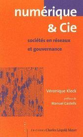 Numerique Et Cie - Couverture - Format classique