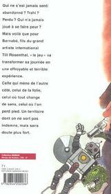 Quelques Heures De Folie Dans La Vie De Barnabe Rosenthal - 4ème de couverture - Format classique