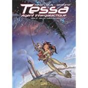 Tessa, agent intergalactique t.2 ; les dix dalles du labyrinthe - Couverture - Format classique