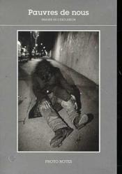 Pauvres De Nous Photo Notes N 5 - Couverture - Format classique