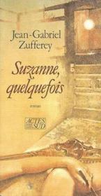 Suzanne, Quelquefois - Couverture - Format classique